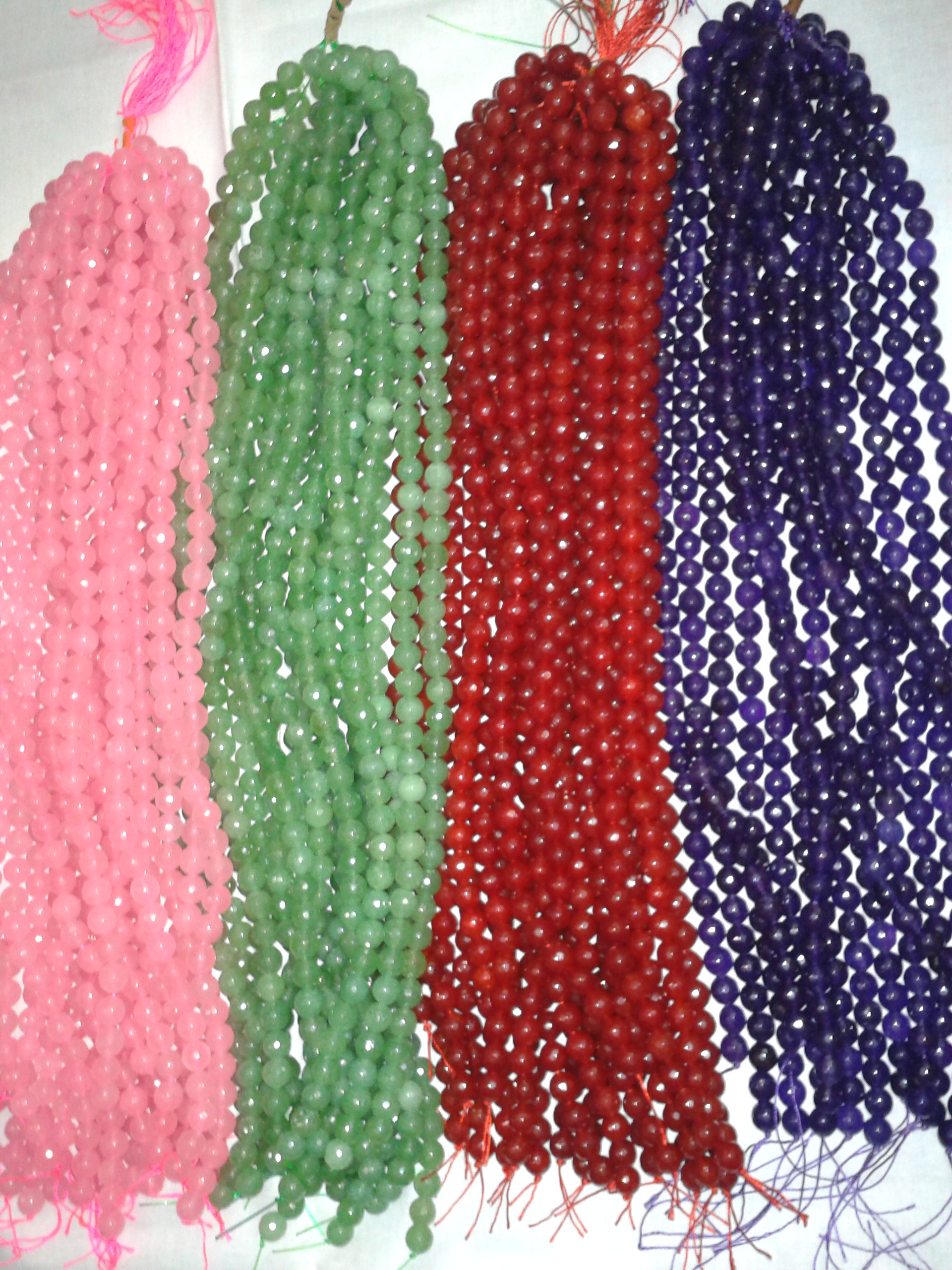 wholesale semi matrix best purple beads gemstone bead precious strand rice a source